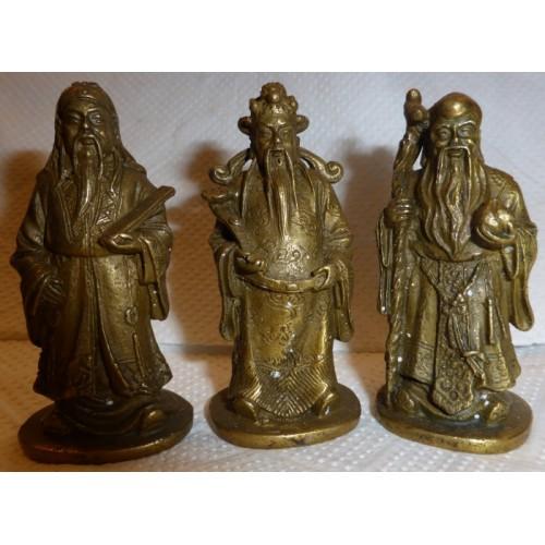 3 Θεοί μπρούντζινοι-μικρό μέγεθος