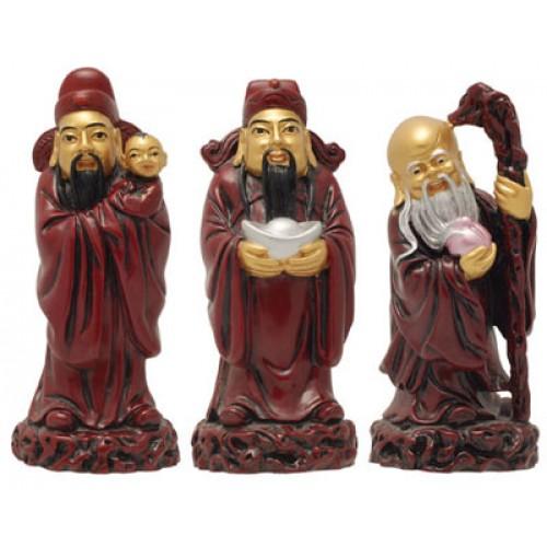 Οι τρεις Θεοί / μεσαίο