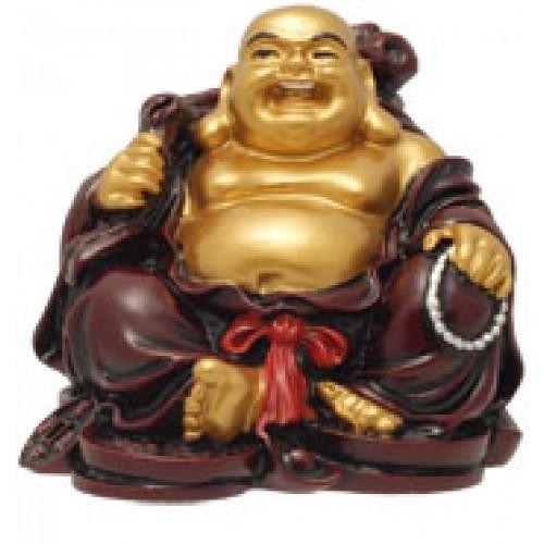 Τυχερός Βούδας πλούτου καθιστός