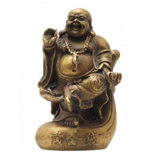 Βούδας πλούτου με σακί