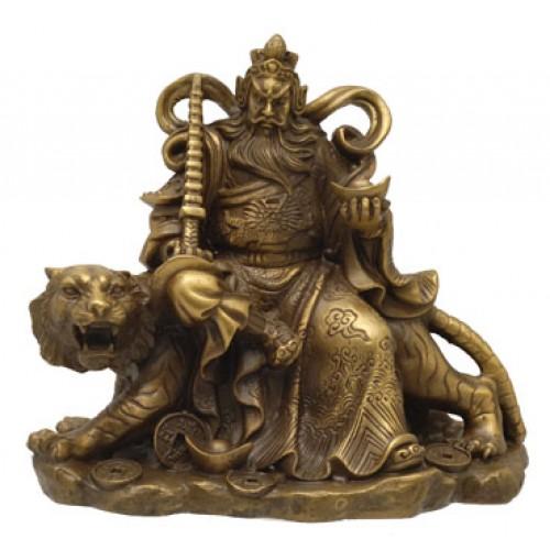 Θεός πλούτου σε τίγρη (Τσάι Σεν Γιε) -μικρός