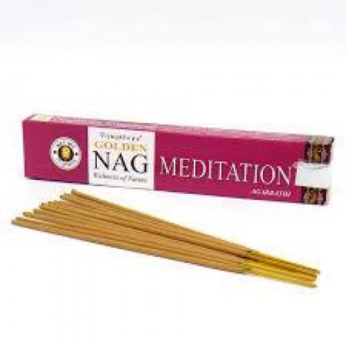 Aρωματικά στικς Golden Nag Meditation