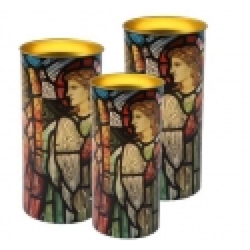 Κερί βιτρώ με αγγέλους