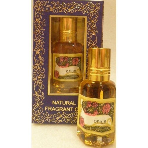 Φυσικό άρωμα με αιθέρια έλαια-Opium 10ml