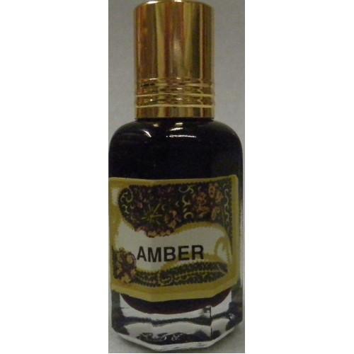 Φυσικό άρωμα με αιθέρια έλαια- Amber (Κεχριμπάρι)10ml