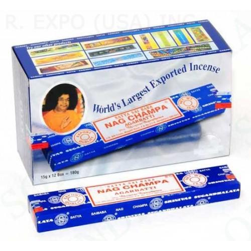 Αυθεντικό στικ Nag Champa Incense 15 g. Dozen