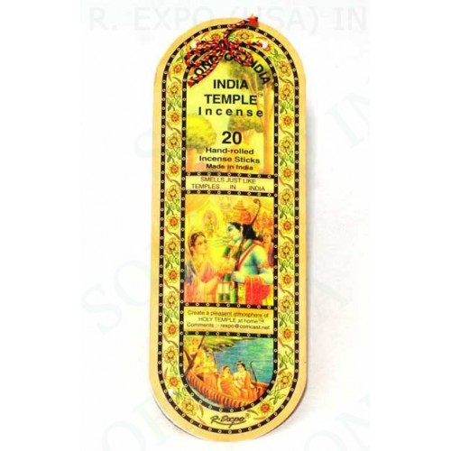 India Temple Incense 20 stick packs