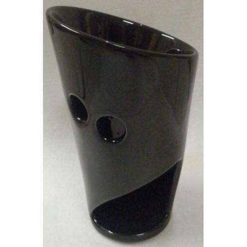 Συσκευή καύσης αιθέριων ελαίων κεραμική/μαύρη