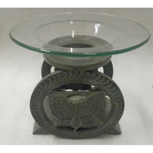 Συσκευή καύσης αιθέριων ελαίων πεταλούδα πέτρινη
