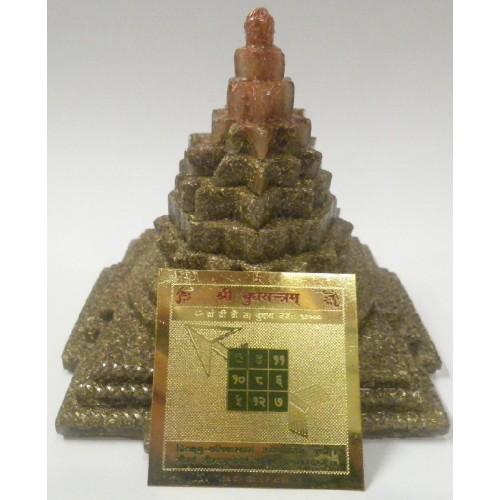Πυραμίδα οργονίτη με μάνταλα του πλανήτη Ερμή