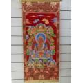Κρεμαστό τοίχου Red Buddha (Amitabha)