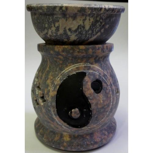 Συσκευή καύσης αιθέριων ελαίων πέτρινη γιν γιάνγκ