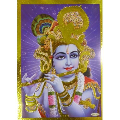 Κάρτα έγχρωμη Khrisna
