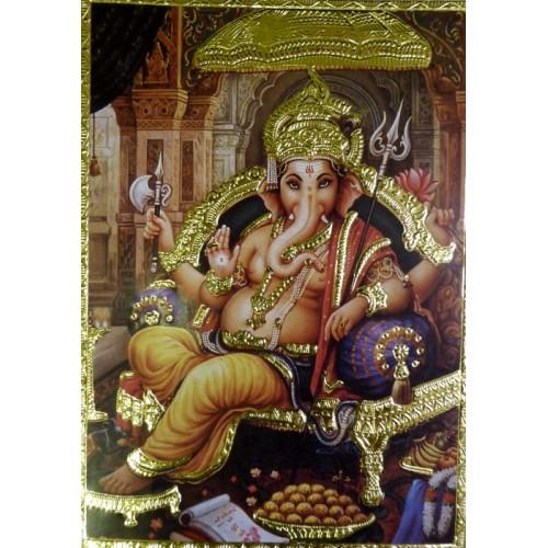 Κάρτα έγχρωμη Ganesha