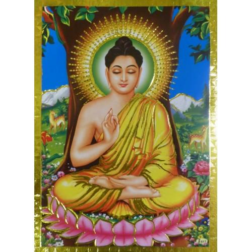 Κάρτα έγχρωμη Βούδας