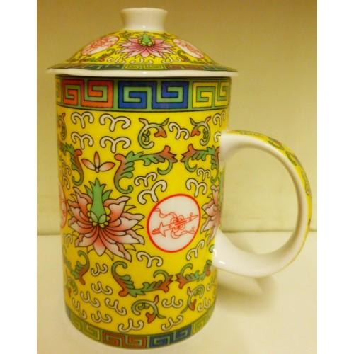 Κίτρινη κινέζικη κούπα