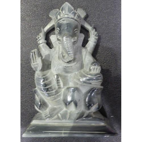 Άγαλμα θεού Γκανέσα από σαπουνόπετρα