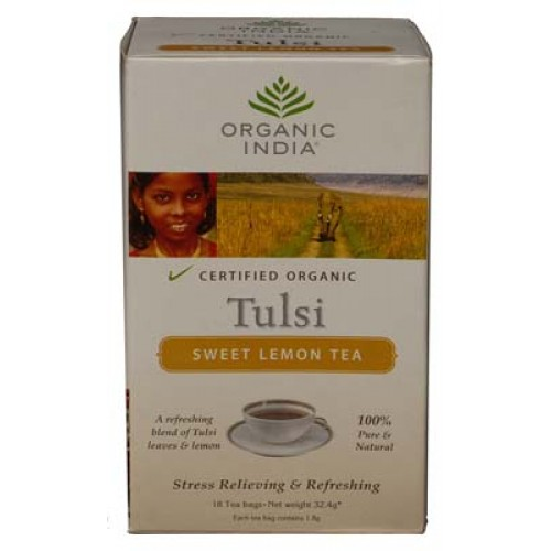 Tulsi Sweet Lemon Tea (Organic India)