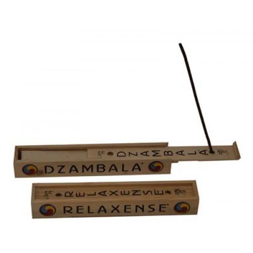 Θιβετανικά sticks με βότανα σε ξύλινο κουτί – θήκη – βάση