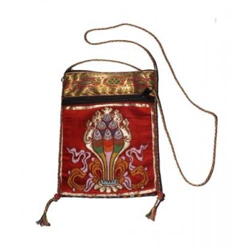Τσαντάκι θιβετιανικό με μετάξι, για καλοτυχία