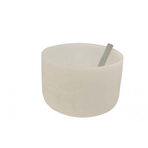 Κρυστάλλινο singing bowl 20cm τσάκρα κορυφής