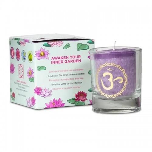 Aρωματικό κερί 7ου τσάκρα σε συσκευασία δώρου
