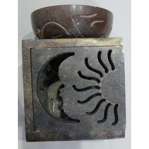 Καυστήρας αιθέριων ελαίων πέτρινος διάτρητος