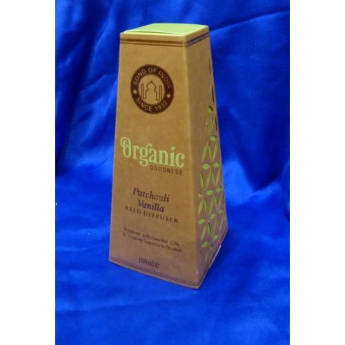 Αρωματιστής χώρου Πατσουλί Βανίλια της σειράς Organic Goodness