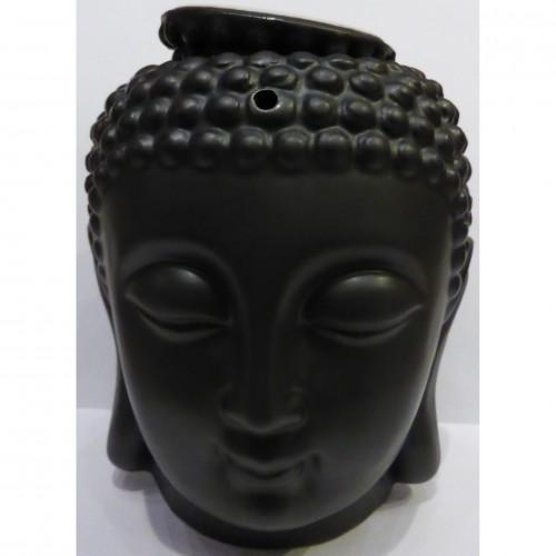 Κεφάλι Βούδα σε μαύρο χρώμα