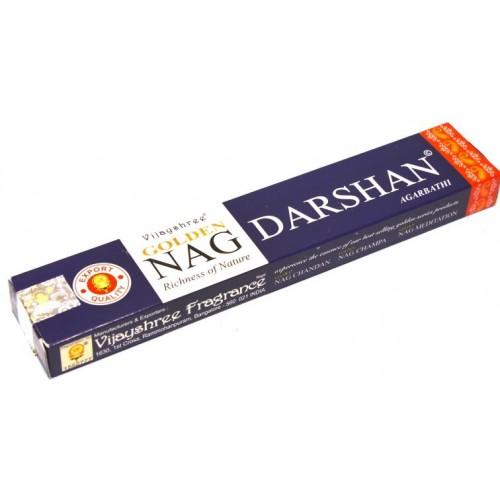 Αρωματικά στικς Golden Nag Darshan
