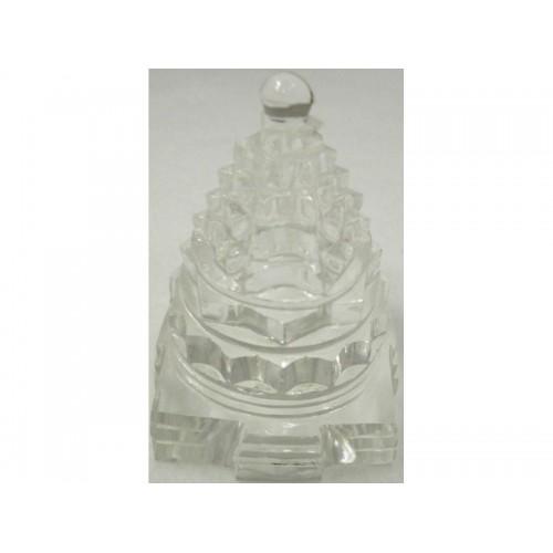 Sri Yantra κρυστάλλινη με μορφή Μέρου 20 γρ.