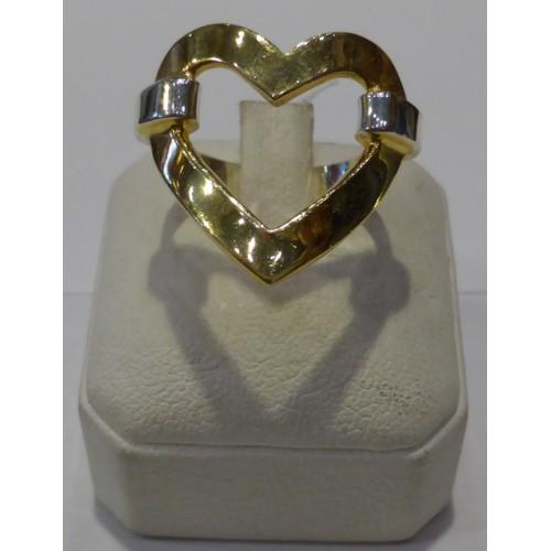 Δαχτυλίδι σε σχήμα καρδιάς
