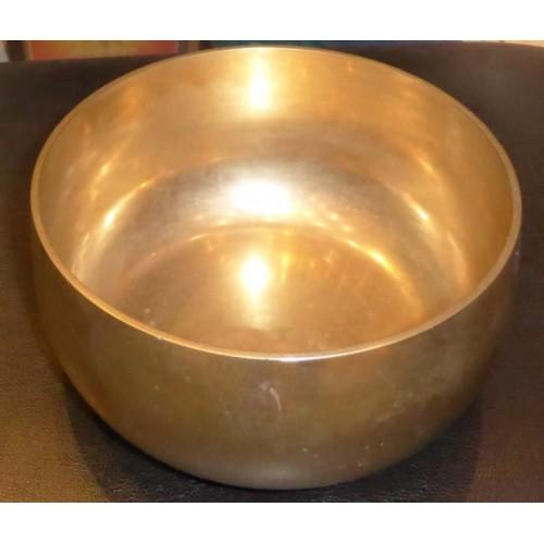 Θιβετανικό singing bowl απλό μεγάλο μέγεθος