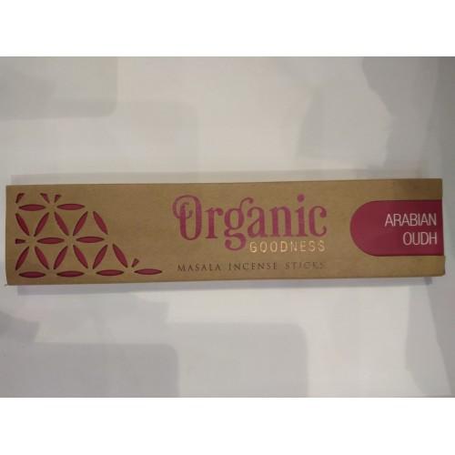 Οργανικά αρωματικά στίκς με άρωμα Αραβικού ούντ
