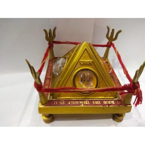 Μάνταλα προστασίας τετραπλή πυραμίδα Ashtadattu